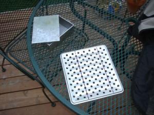 kegorator drip tray DIY