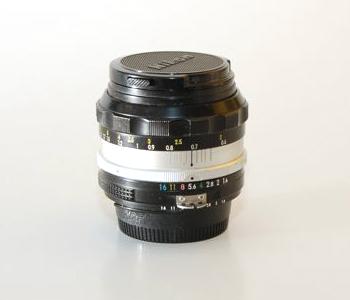 nikon 50mm f/1.4 - Fassssssssssst lens. Old Glass