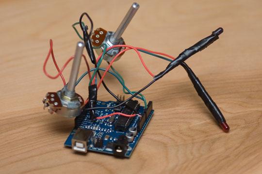 arduino d40 ir intervalometer