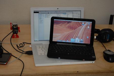 hp mini hackintosh and MacBook