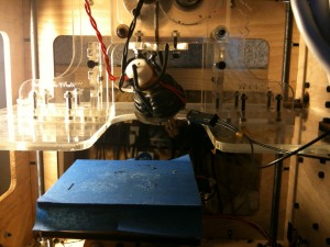 broken makerbot hot end